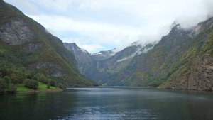 The cruise from Aurland to Gudvangen