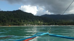 Island hopping tour from Port Barton, Palawan