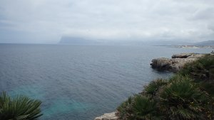 On the way to Tonnara Bonagia, Sicily